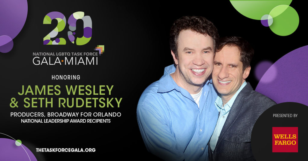 2016 Task Force Gala Honorees James Weskey & Seth Rudetsky
